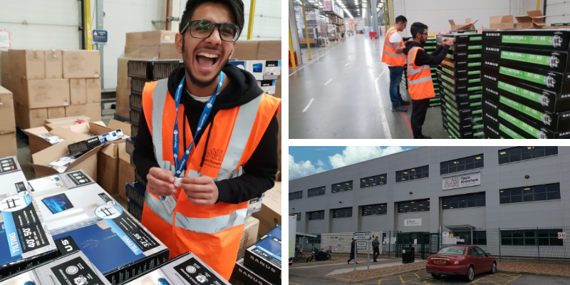 DIXONS NEWARK WAREHOUSE ACTIVITY